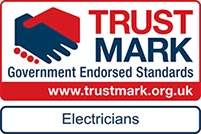 Electrician Nottingham NE Electrical are fully qualified Trust Mark.